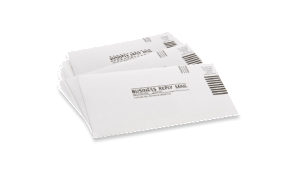 business reply envelope
