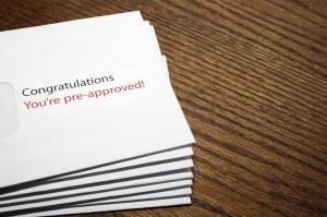 Pre-Approved envelope teaser